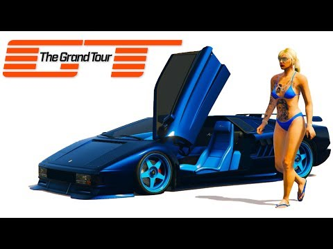 THE GRAND TOUR: ULTIMATE DRIFT CARS - GTA 5 GRAND TOUR SPENDING SPREE!!!!