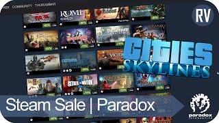 Steam Publisher Sale | Paradox Interactive | 50% Cities Skylines [Deutsch/German]