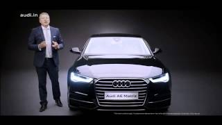 2015 Audi A6 India Launch - Price Rs 49.50 lakhs