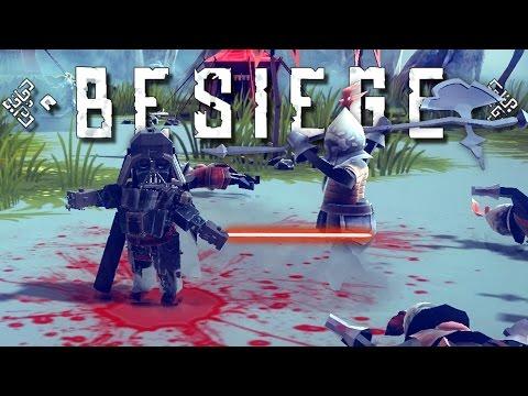 Besiege Creations! - Darth Vader, Ballistic Missiles, Maddozer, and More! - Besiege Gameplay