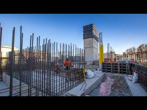 Port Adelaide Government Office Development - Construction Timelapse March - July 2017
