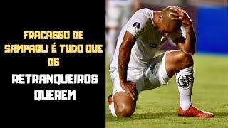 Fracasso dos times brasileiros que gostam da bola é tudo que os retranqueiros querem