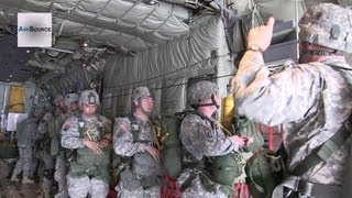 U.S. Marines Air Drop Training During Red Flag