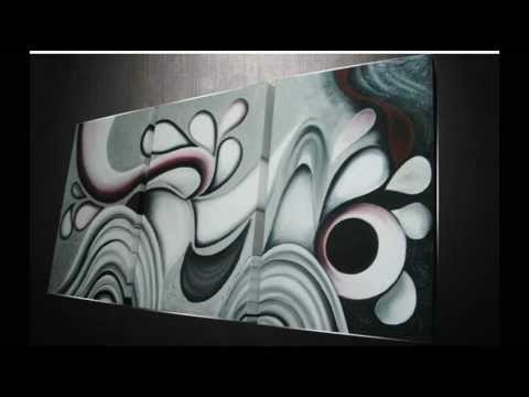 Cuadros Abstractos 2  Lo ms moderno   YouTube