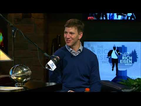 New York Giants QB Eli Manning on Rich's Karaoke Skills & Growing Up in Minnesota - 2/2/18
