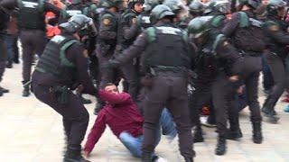 Spanien: Polizei geht massiv gegen Unabhängigkeitsreferendum vor