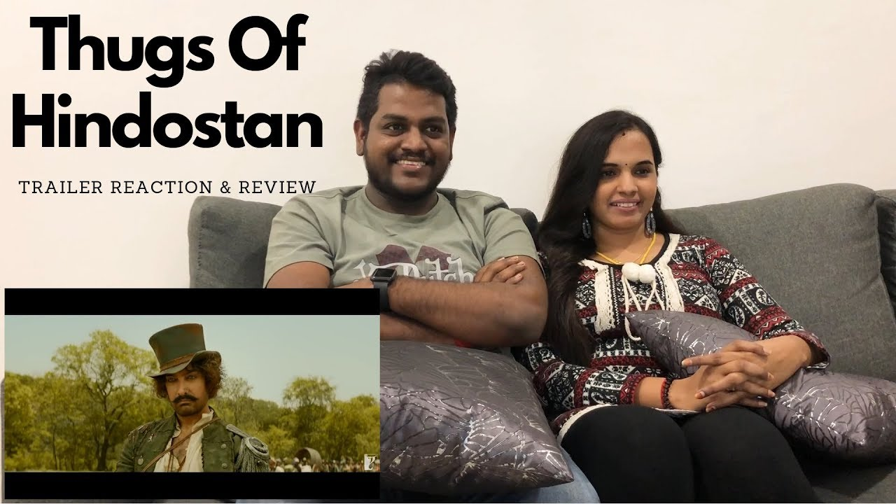 Download Thugs Of Hindostan Trailer Reaction | Malaysian Indian Couple
