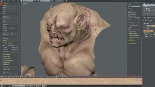 the beast texturing in blender and photoshop 4 4