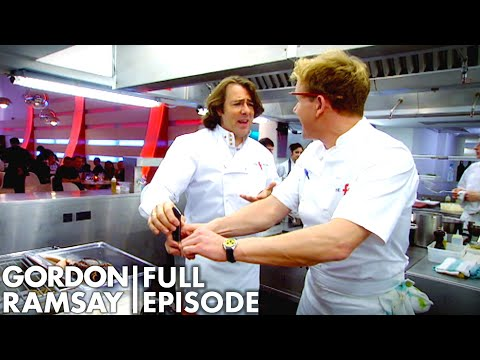 Gordon Ramsay Teaches Jonathan Ross How To Kill A Lobster | The F Word Full Episode