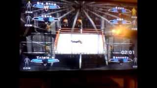 unforgiven 2003 wwe championship elimination chamber svr07