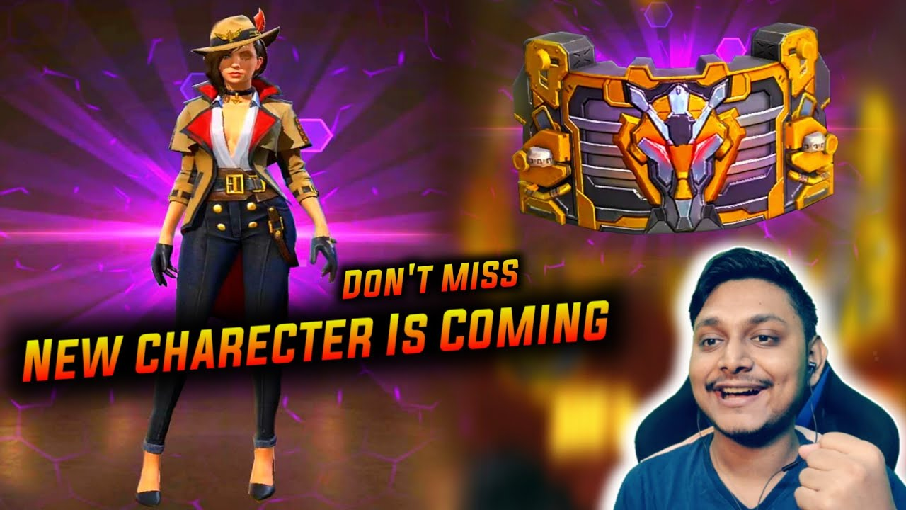 New Charecter Is Coming First Look - All New Costumes And Top Up Event - Gamers Zone