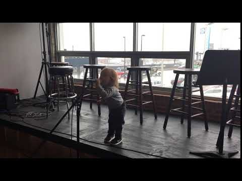 Roy Orbison 3, at 22 mo, singing at Still Working Music Publishing Headquarters in Nashville