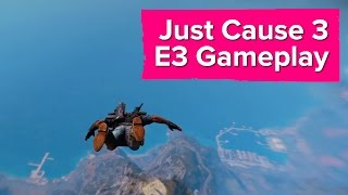Just Cause 3 gameplay trailer - open world chaos with Just Cause 3