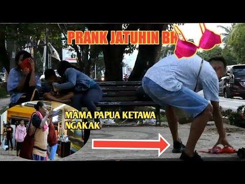 PRANK JATUHIN BH DI TEMPAT UMUM!! - PRANK PAPUA - PRANK INDONESIA
