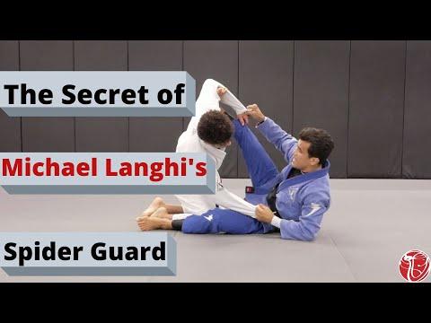 The Secret of Michael Langhi Spider Guard | Cobrinha BJJ