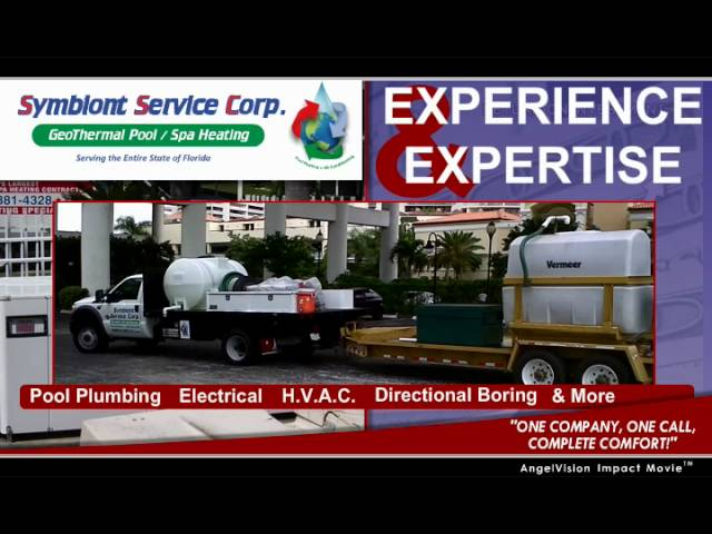 Geothermal Pool Heating in Florida by Symbiont Service