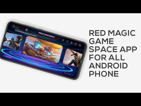Red Magic Game Space Launcher for android   Nubia Apps   Ported Apk   zte   nubia red magic   nubia