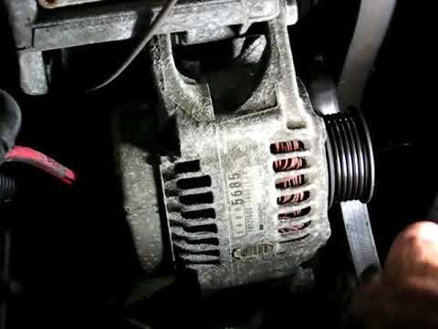 Jeep Grand Cherokee Alternator Replacement