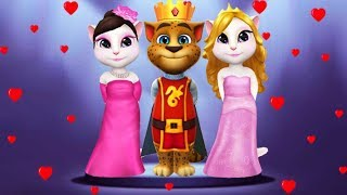 🎮My Talking Angela 1 Vs My Talking Tom 2 Vs My Talking Angela 2 | New Android Gameplay