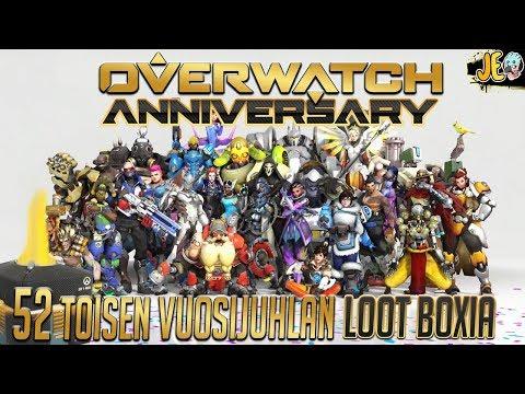 Overwatch #113   52 toisen vuosijuhlan loot boxia [Anniversary 2018]