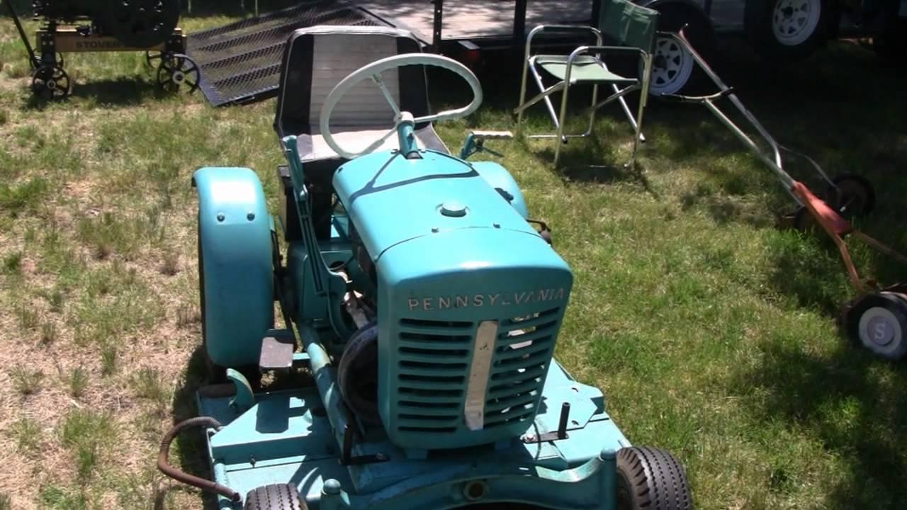 Antique Pennsylvania Panzer Tractor Youtube