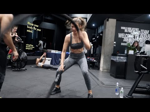MODEL WORKOUT VLOG NYC