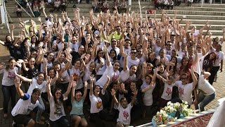 flash mob dnj 2015   lenis paulista sp