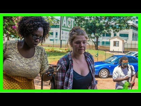 American woman facing charges in zimbabwe through tweets about mugabe