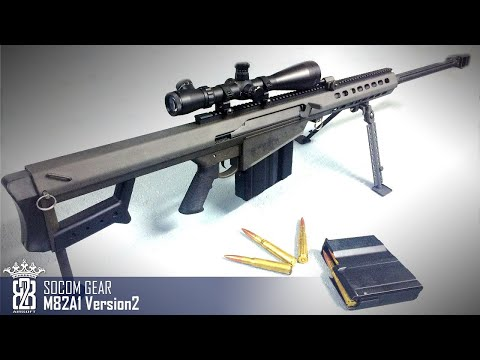 *Airsoft Review* Socom Gear Barrett M82A1 (M107) Version 2 Madbull | Deutsch - English Subtitle