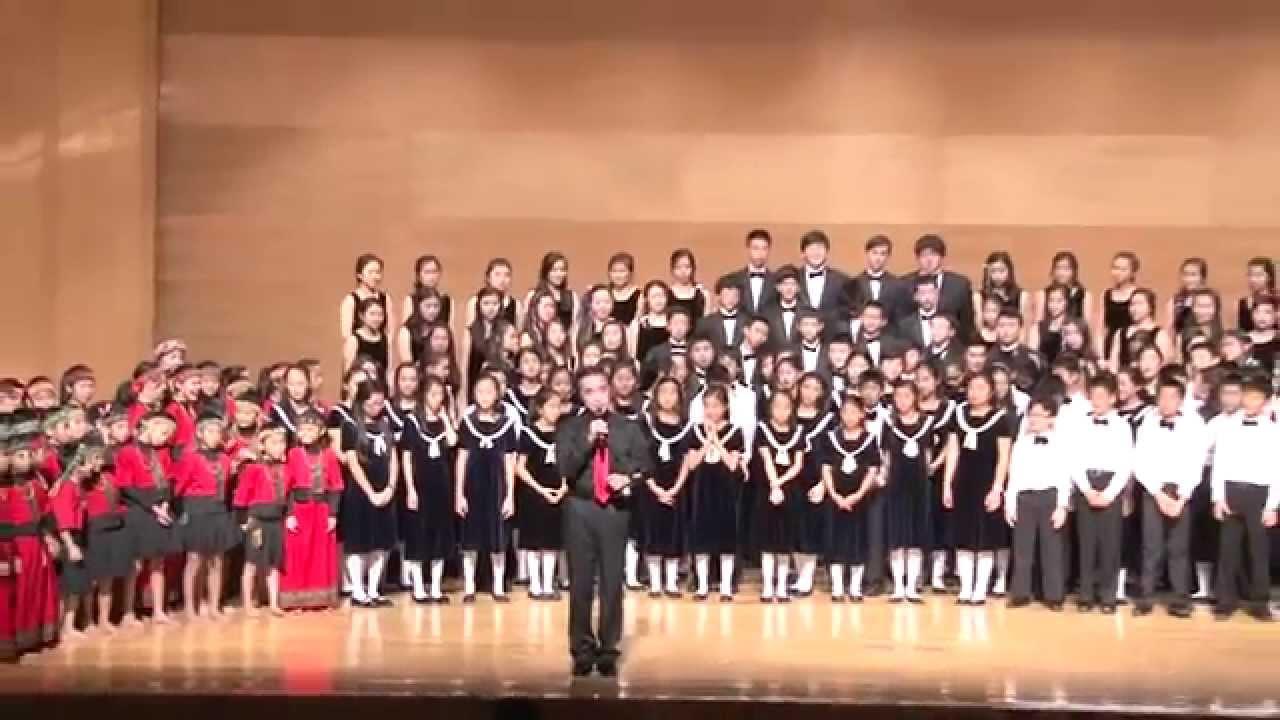 晶生晶世愛傳萬里_(4)美國晶晶兒童合唱團 - YouTube