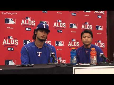 Yu Darvish says he's stronger mentally and physically since 2013 wild card