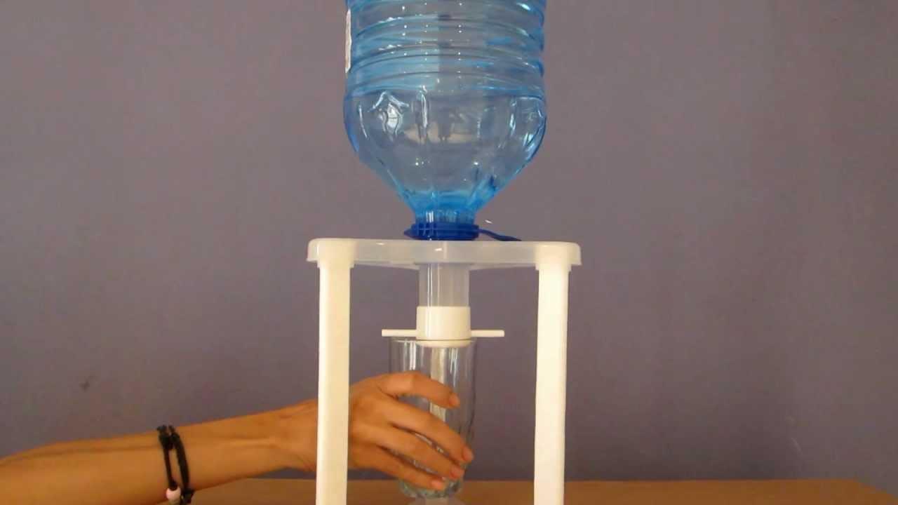 Дозатор для воды своими руками