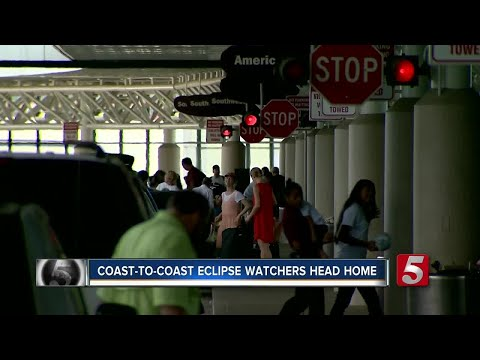 BNA Hit With Eclipse Travelers Returning Home
