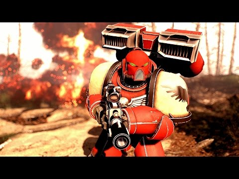The Space Marine Armor - Fallout 4 Mods (PC)