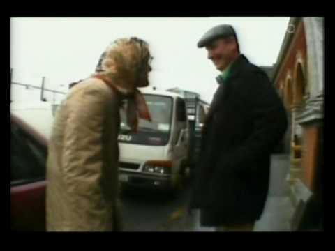 The Dirty Aul Wan at the Dublin Fruit Markets