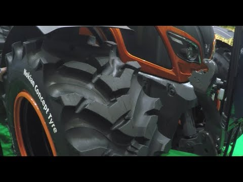 Nokian Tyres' Innovative Concept Tyre for Tractors