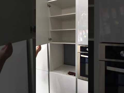 Cocina Modular Marca: XEY, Acabado: Polilaminado, Color: Blanco