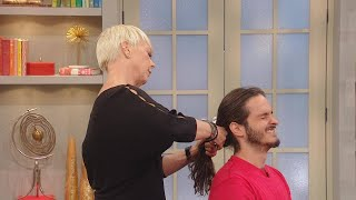 "Man Called ""Jon Snow"" After Not Cutting His Hair for 5 Years - Until We Gave Him an Epic Haircut!"