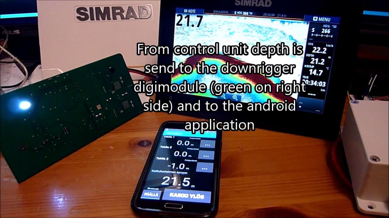Wireless NMEA0183 and AutoTrolling