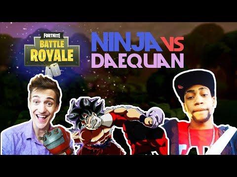 Ninja Vs Daequan 🥊Insane 1v1🥊 (Fortnite)