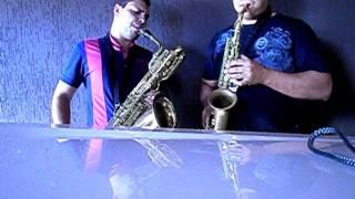 Tocata Rio Verde Goias Sax baritono e alto - Escalinha