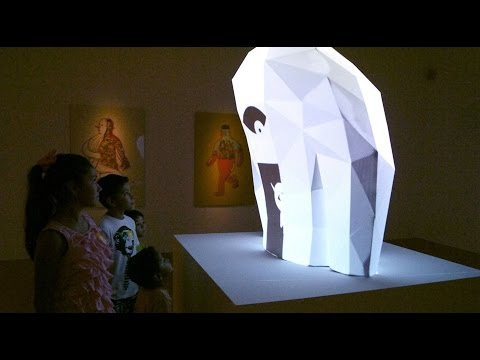 """JACK"", Projection Mapping Sculpture @ Museo de Arte Contemporáneo de Monterrey"