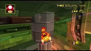 [Mario Kart Wii 300cc TAS] Bowsers Castle (glitch) 41:545