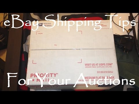 Tips On Saving Money Shipping eBay Auctions - eBay SHIPPING TIPS