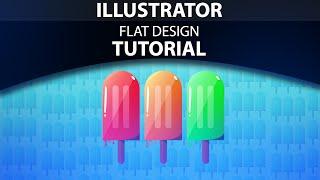 Illustrator Food Flat Design Tutorial
