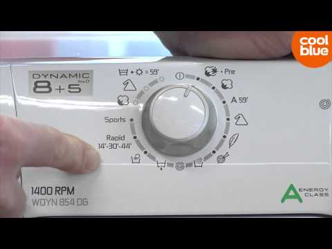 Hoover WDYN 854 DG videoreview en unboxing (NL/BE)
