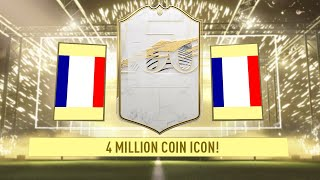 OMG! 4 MILLION COIN ICON IN A PACK! FIFA 21 GUESS WHO! #FIFA21 ULTIMATE TEAM