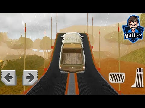 4x4 Dirt Offroad Parking - Android Gameplay HD - Trucks For Kids Racing Stunts Parking Compilation