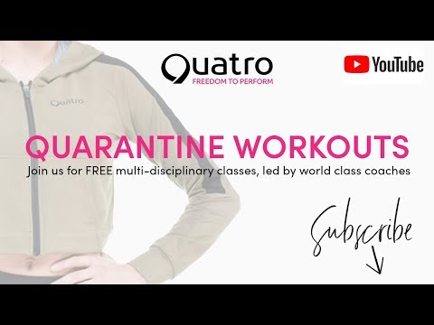 Quatro Quarantine Workout With Head Coaches Josh & Molly From Aylesbury GC