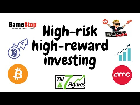 Investing in high-risk high-reward stocks and cryptocurrencies (ft. my GME position)